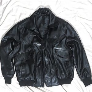 Emporio & Co Men's Leather Jacket